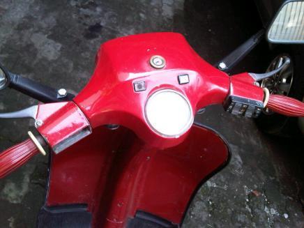 vespa PS 1982 dijual